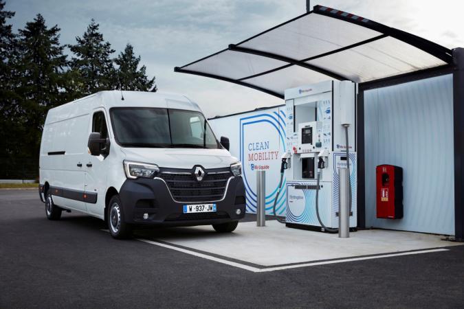 Renault a Plug Power spojují své síly a jejich cílem je stát se jedničkou v oblasti lehkých užitkových vozidel na vodíkový pohon.
