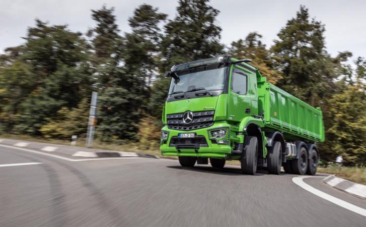 Mercedes-Benz Arocs je extrémně robustní vozidlo pro obzvláště náročné aplikace.