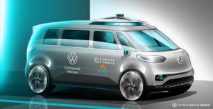 Volkswagen Užitkové vozy urychluje vývoj autonomních systémů