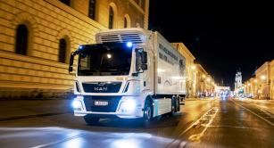 Testovacími jízdami v centru Mnichova společnost MAN dokázala, že elektrické trucky se dají efektivně využívat i v citlivých částech dne.