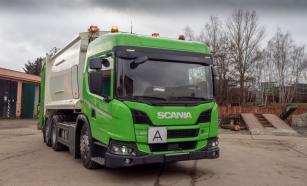 Nové vozidlo Scania pro svoz odpadu v Moravské Třebové