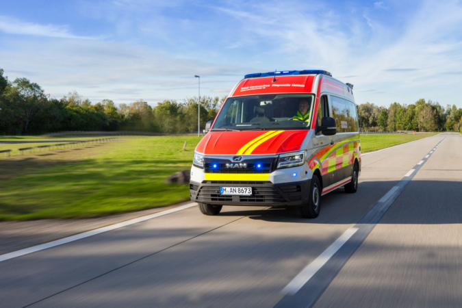 S diagnostickým vozidlem MAN Coronavirus lze testovací kapacity podle potřeby rychle přemístit a nasadit přesně tam, kde jsou potřeba.