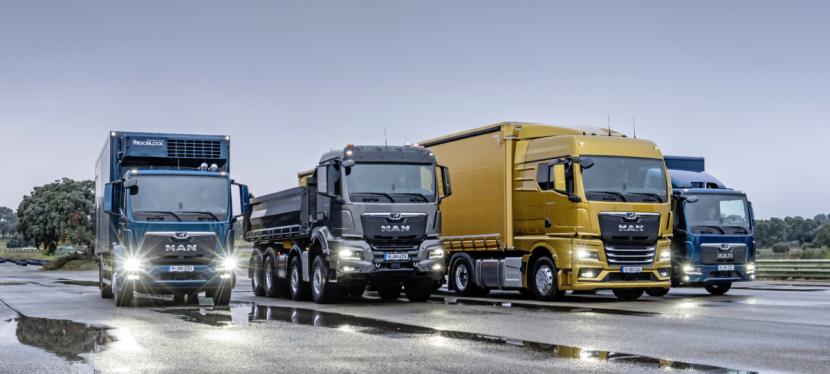Nová generace nákladních vozidel MAN TG.