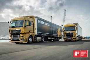 Po ocenění Red Dot v Red Dot Design Award a zlatém ocenění v anketě German Design Award sbírá nová generace vozidel MAN Truck Generation další prestižní ocenění ve dvou kategoriích iF DESIGN AWARDS.