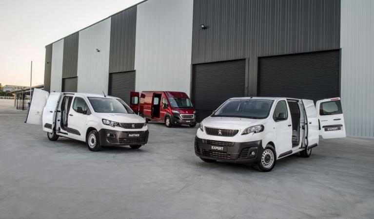 Modelová řada Peugeot Professional