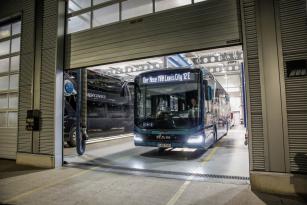 MAN Lion's City E nabízí působivý dojezd 550,8 kilometrů za skutečných každodenních podmínek.
