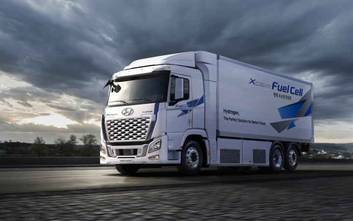 Hyundai XCIENT Fuel Cell nastupuje v modernizované podobě pro rok 2021