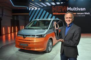 Nový Multivan získal renomované ocenění Red Dot Award: Product Design