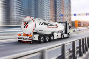 Se 150 specializovanými vozidly, jakou jsou cisterny, je Schwarzmüller nejrozmanitějším výrobcem v Evropě.
