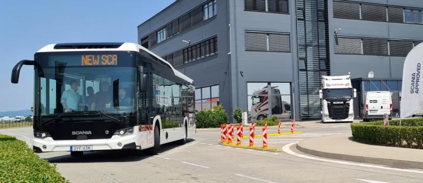 Scania zákazníkům v České republice a na Slovensku představila novou generaci autobusů Citywide.