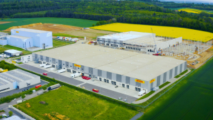 Budova s podlahovou plochou cca 32 000 m2 umožní rozšířit portfolio služeb DHL a posílí ekonomiku regionu Rýn-Mohan.