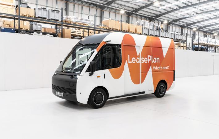 LeasePlan a Arrival přivedou do Evropy revoluční elektrické dodávkové automobily