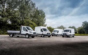 Ford E-Transit vyjíždí na evropské silnice