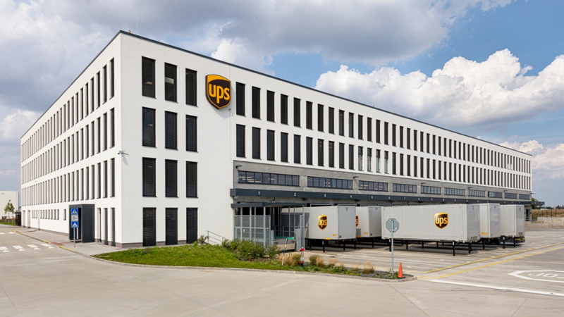 Nové logistické centrum UPS v Tuchoměřicích