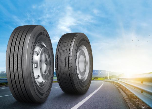 Šampion pro úsporu paliva při přepravě na dlouhé vzdálenosti: nejnovější přírůstek do rodiny pneumatik Conti EcoPlus.