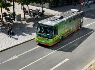 Elektrobusy v BB Centru najely už přes 200 000 km a svezly přes 2 miliony pasažérů.