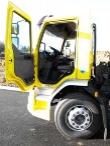 U stavebních podvozků je budka umístěna znatelně výše než i čistě rozvážkových trucků